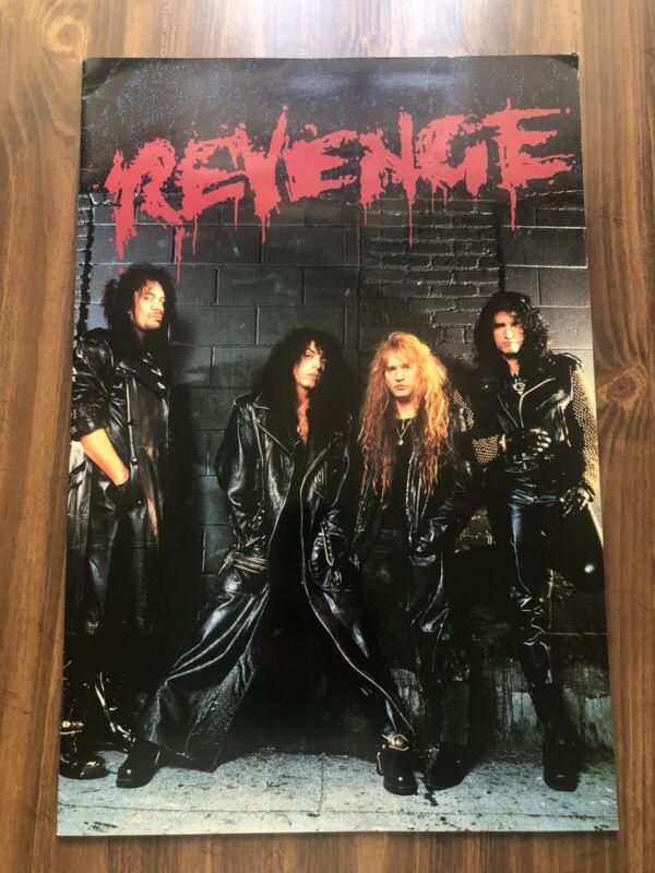 KISS - Revenge Tour Book 1992 - SUPER MEGA RARE!! - Paul Stanley Gene Simmons