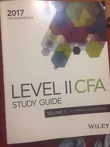 Wiley notes CFA level 2