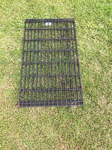 Large dog crate and exercise pen (pen sold)