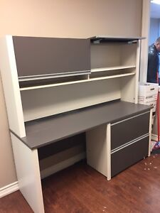 Office Hutch and matching  Desk