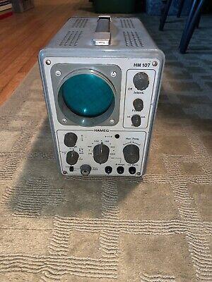 Rare Vintage Hameg Hm 107oscilloscope