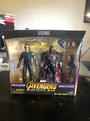 "MARVEL LEGENDS 6"" INFINITY WAR FALCON & WINTER SOLDIER 2-PACK TARGET EXCLUSIVE"