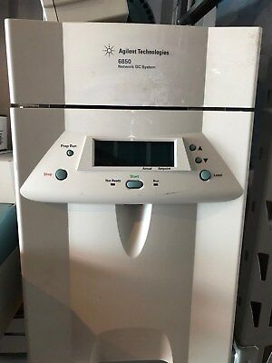 Agilent 6850 Gas Chromatograph With 90-day Warranty