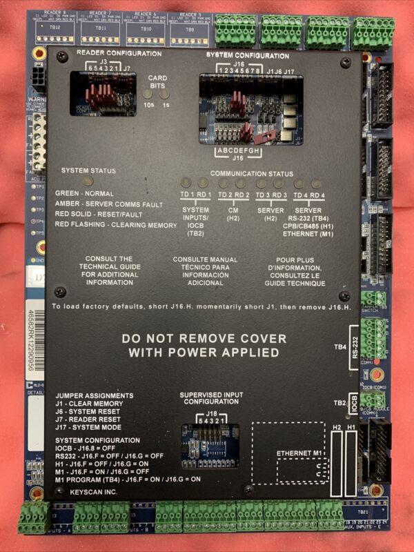 Keyscan CA4500 , 1 Netcom Card and 1 OCB8