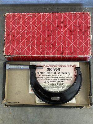 Starrett Outside Micrometer 436 3-4