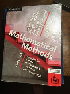 Cambridge mathematical Methods Units 1 & 2 VCE