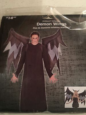 Halloween Costume Men's/woman's Demon Wings Inflatable