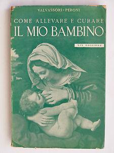 VALVASSORI PERONI COME ALLEVARE E CURARE IL MIO BAMBINO HOEPLI XIX ED. 1958 - Italia - VALVASSORI PERONI COME ALLEVARE E CURARE IL MIO BAMBINO HOEPLI XIX ED. 1958 - Italia