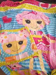 Lalaloopsy  single doona cover and pillow case Meadow Springs Mandurah Area Preview