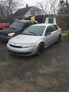 03 Saturn ion with parts car