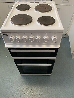 Beko EDP503 Electric Cooker - 50cm, White