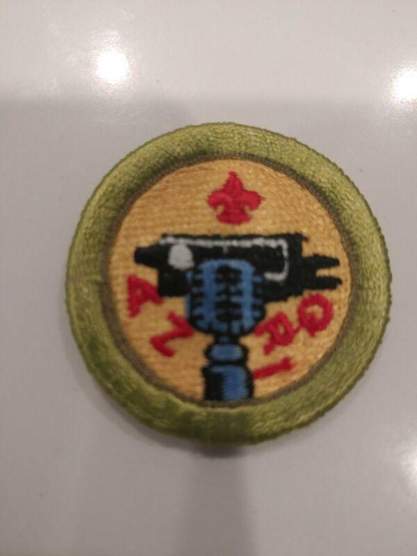 BSA Type I Merit Badge 38mm - Journalism (1993-95)