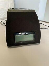 iHome ALARM CLOCK RADIO + iPod DOCK