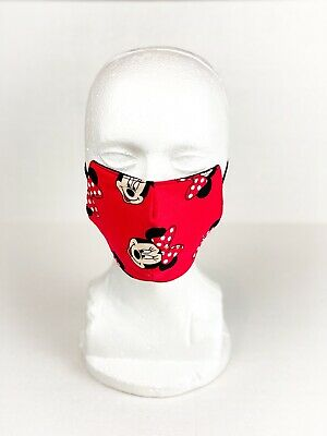 Home Made Face Mask Protection Double Cloth Washable Reusable Kids Size Minnie