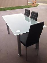Glass Table + 6 Chairs for Sale Park Grove Burnie Area Preview