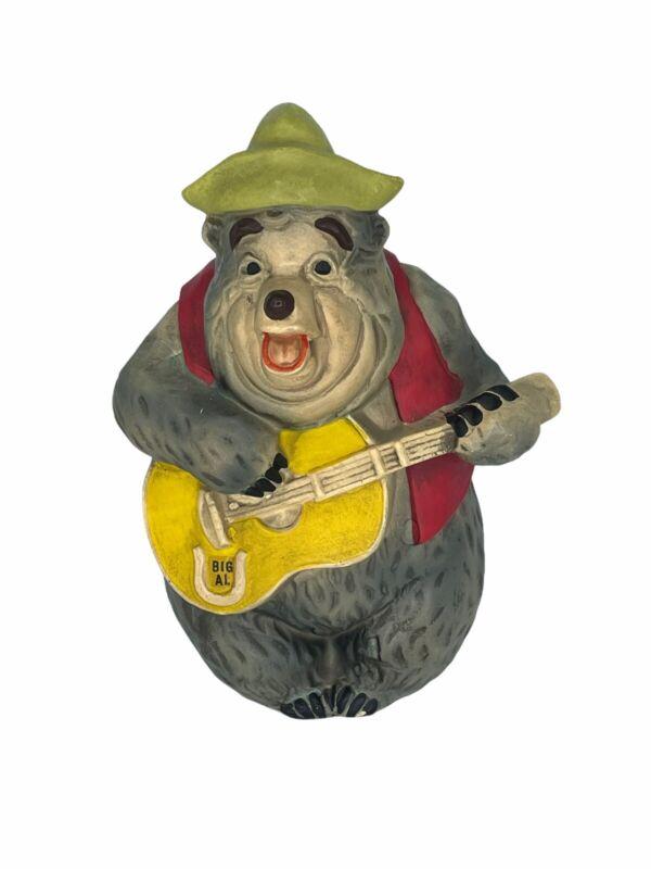 Walt Disney Productions Country Bear Jamboree BIG AL Coin Bank Vintage