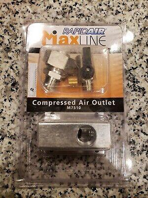 New M7510 Rapidair Maxline Air Hose Outlet Connector Kit 34 Hose Ships Fast