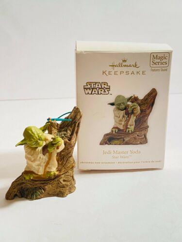 Hallmark Keepsake Ornament 2011 Jedi Master Yoda Star Wars Collectible