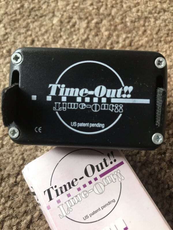 Skydiving Audible Altimeter~Time Out~With Complete Instruction Manual~Used
