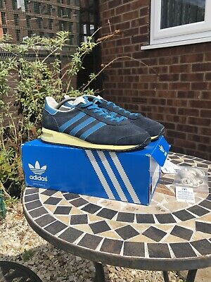 Adidas Marathon 85 Blue Argie Colorway Uk 9 80s Casuals Trainers