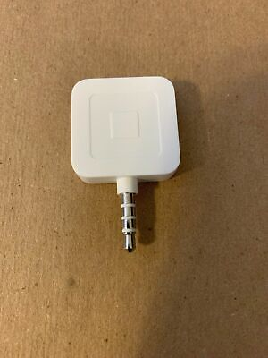 Square Credit Debit Card Reader - White - Used Iphoneandroidipad Free Shipping