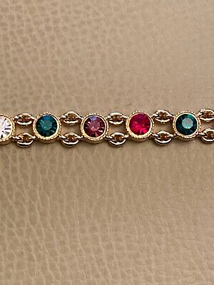 Joan Rivers Classic Collection crystal Bracelet - No Box