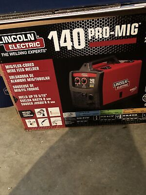 New Lincoln Electric 120v Weld Pak 140 Hd Wire-feed Welder K2514-1 Brand New