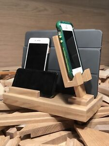 Phone and Tablet Charging Stations and Cradle