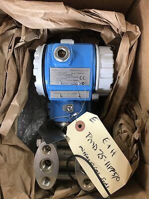 Endress Hauser Deltabar S Pmd75 Differential Pressure Transmitter