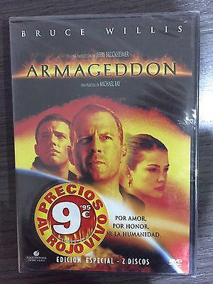 DVD - ARMAGEDDON - BRUCE WILLIS - EDICION ESPECIAL - NUEVO