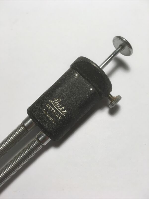 Vintage Leica Leitz - - Double Release Shutter Cable for Bellows - Nice++