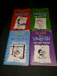 Kmart diary only used one sticker other books gumtree diary of a wimpy kid books solutioingenieria Choice Image