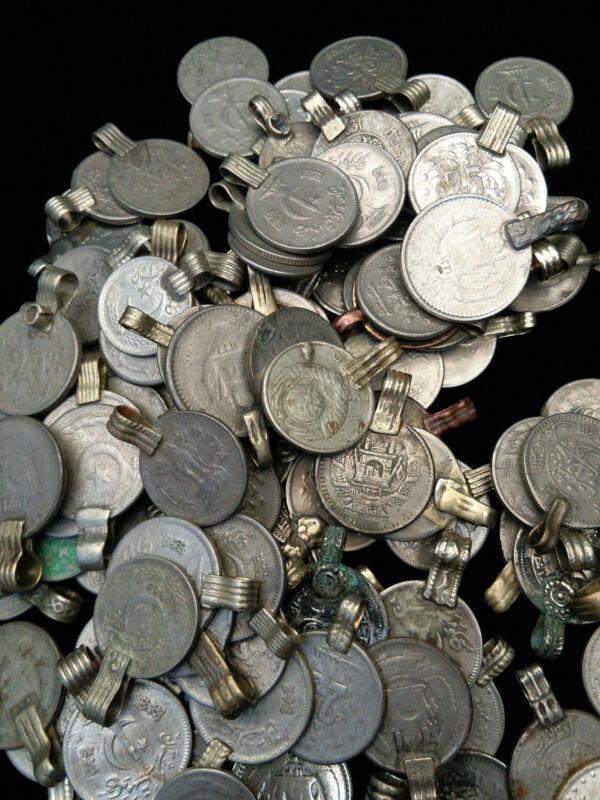100 Small Vintage Kuchi Tribal Coins