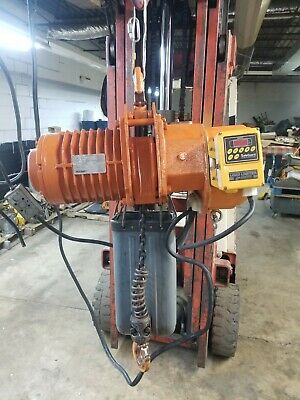 Accoloft 1 Ton Electric Chain Hoist Video Included