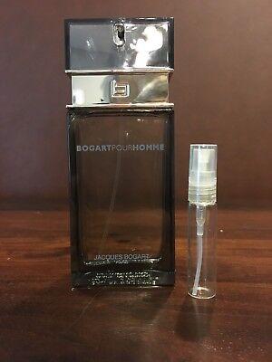 Bogart Pour Homme Men's Fragrance Cologne by Jacques Bogart Paris 5 ml Sample Bogart Pour Homme Cologne