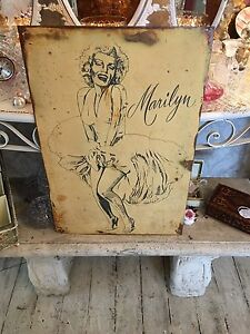 Marilyn Monroe Vintage Tin Sign Myaree Melville Area Preview