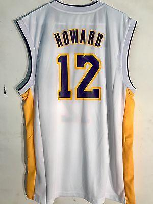 Adidas NBA Jersey Los Angeles Lakers Dwight Howard White sz 2X