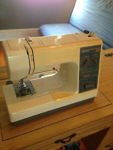 Sew machine and Table