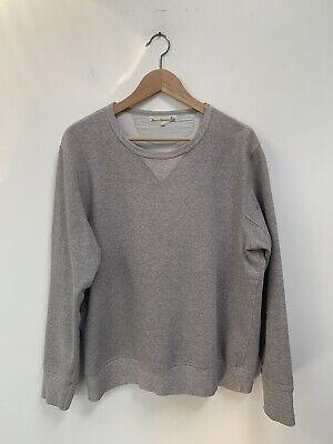 Merz B Schwanen Heavy Ounce Sweatshirt Size 7 Loopwheeled Gray Made In Germany