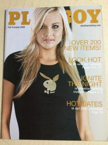 Playboy Catalog Fall Preview 2006 Kara Monaco sexy cover + order form intact