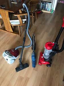 3 Vacuum cleaners to go- $10 for each