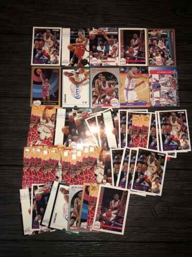 Ron Harper Lot Of 49 Clippers 11 Different Cards Base - $5.00