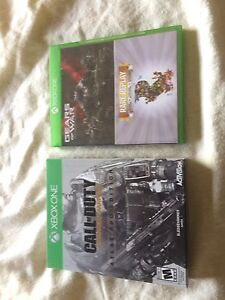 Cod and gears Xbox one games