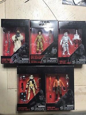 Star Wars Black Series 3.75 Figures  U CHOOSE! NEW FIGURES! Walmart Exclusives!