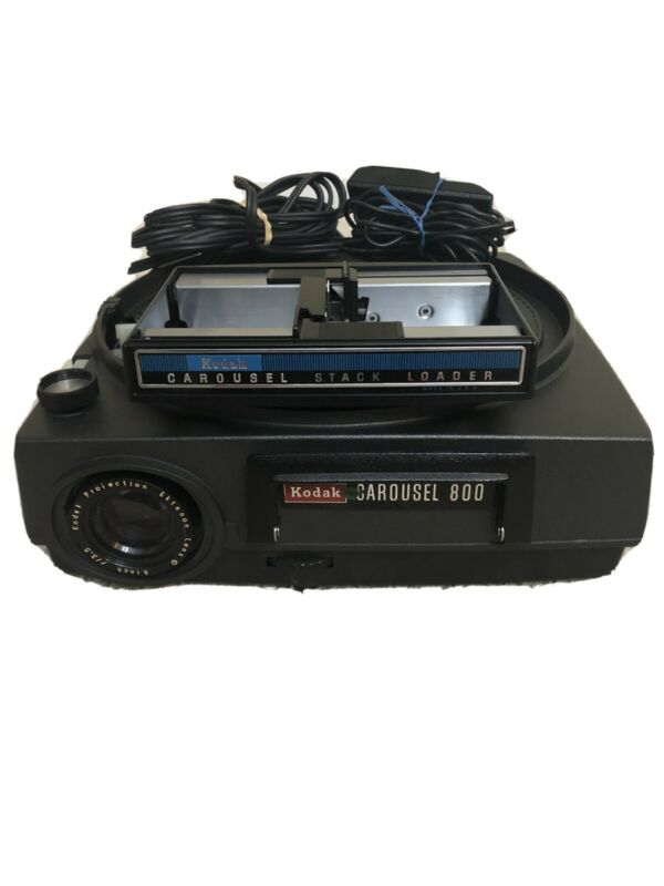Working Kodak Carousel 800 Slide Projector With Remote