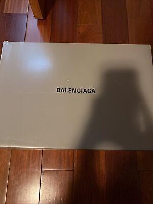 Balenciaga Triple S Sneaker Shoes Red Black US 9.5 EU 43 Brand New