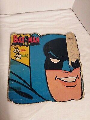 Batman A-Z From Alfred To Zowie 1966 Book Vintage Fair To Poor Shape comprar usado  Enviando para Brazil