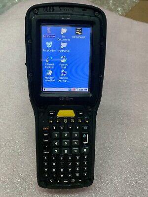 Psion Teklogix Omnii Xt10 Handheld Barcode Scanner 7545 Xv 1024256mb W Grip L2