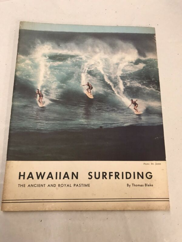 Hawaiian Surfriding By Thomas Blake-1963