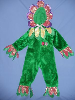 Earth Day Costume (FLOWER COSTUME PLUSH;2-4;7-8;PANSY;DAISY;GARDEN;Earth Day;SCHOOL PLAY;Dress)